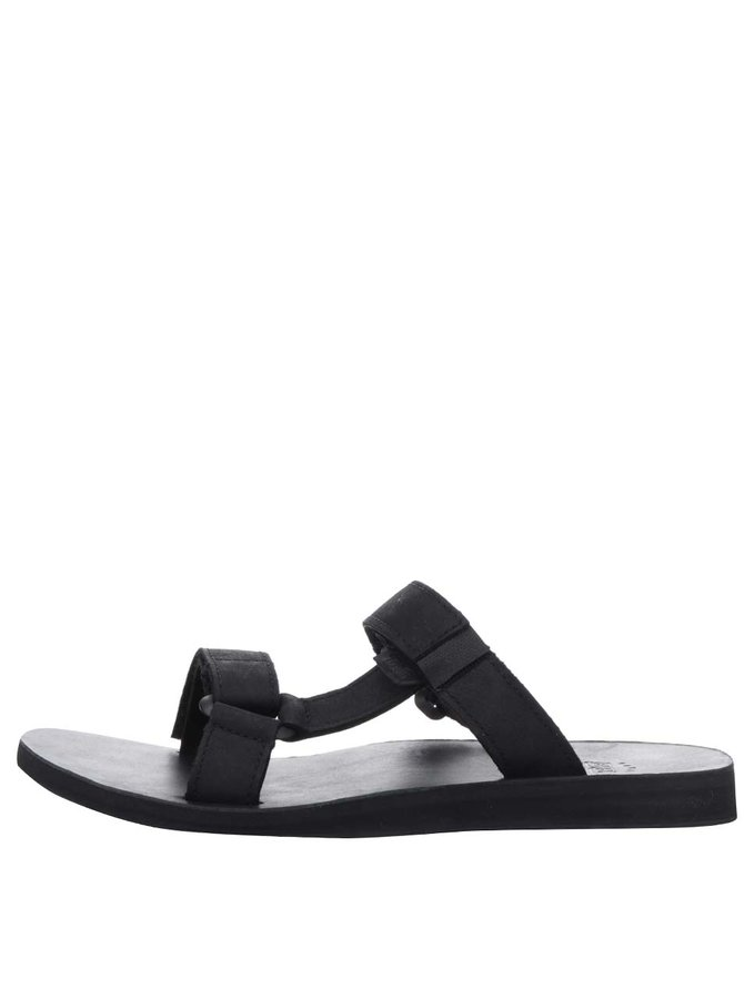 Papuci flip-flop negri Teva din piele