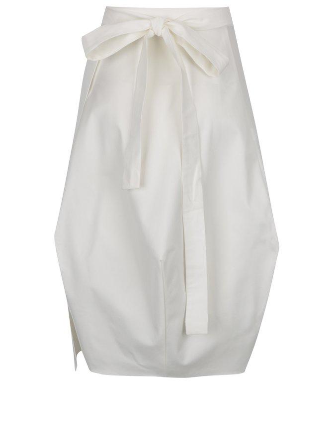 Krémová zavinovací sukně Bianca Popp
