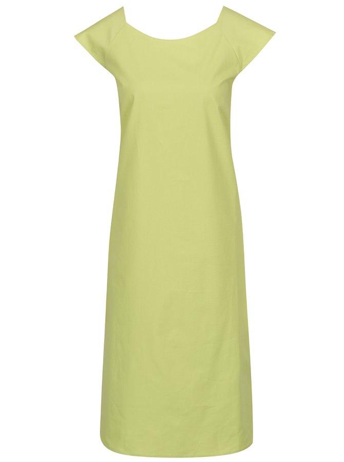 Rochie maxi verde tei Bianca Popp cu mâneci capă
