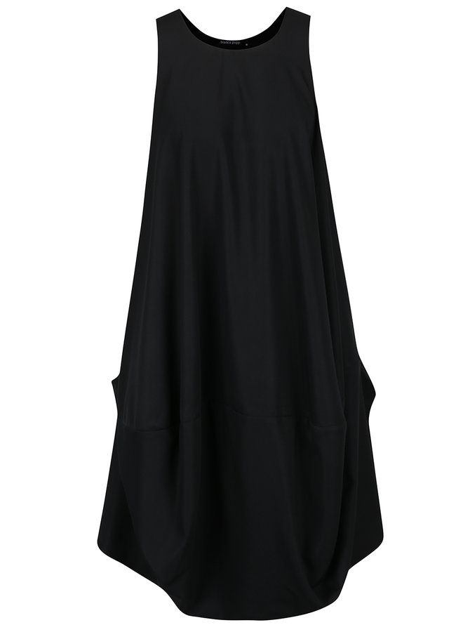 Rochie neagră Bianca Popp  cu croi amplu