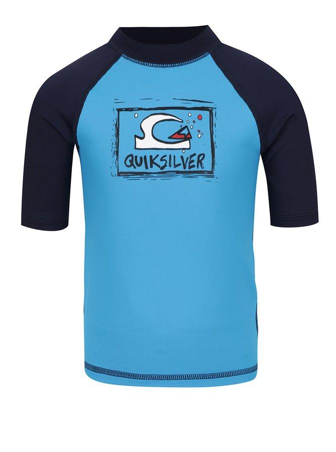 Modré plavkové triko Quiksilver Bubble Dream