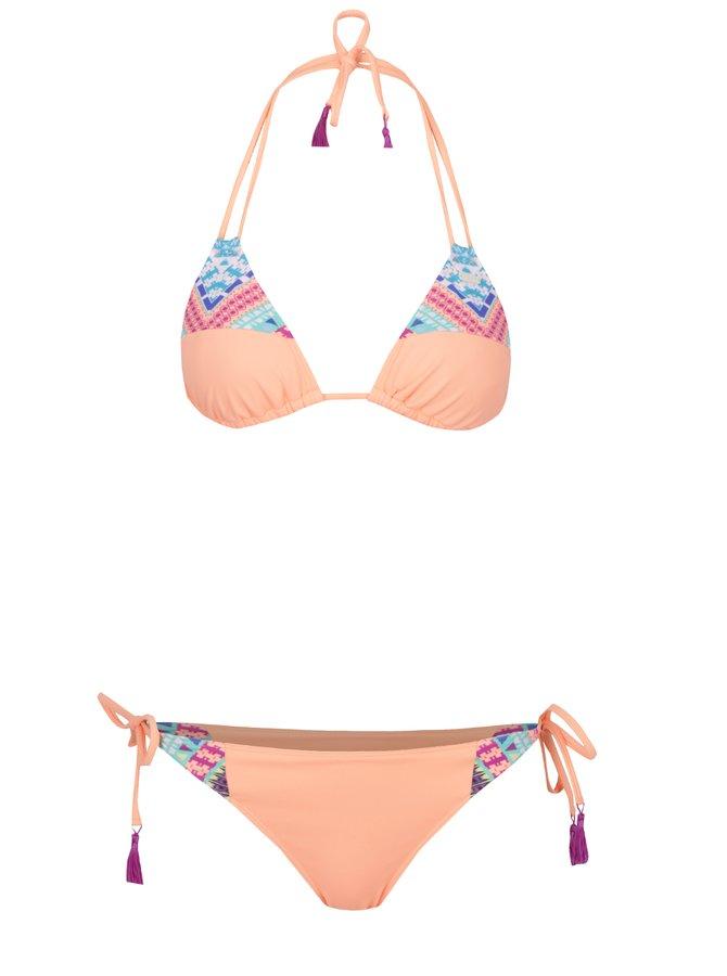 Oranžové dámské dvoudílné plavky Roxy Memori