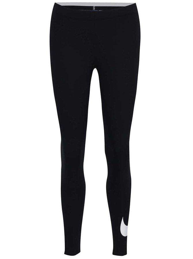 Černé dámské funkční legíny Nike Sportswear