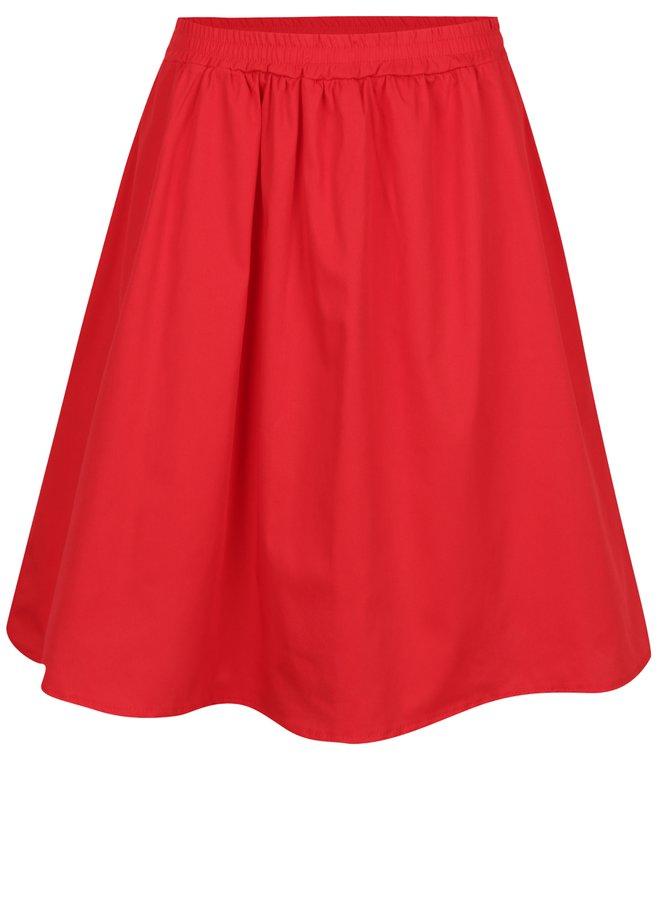 Červená sukně s kapsami ZOOT
