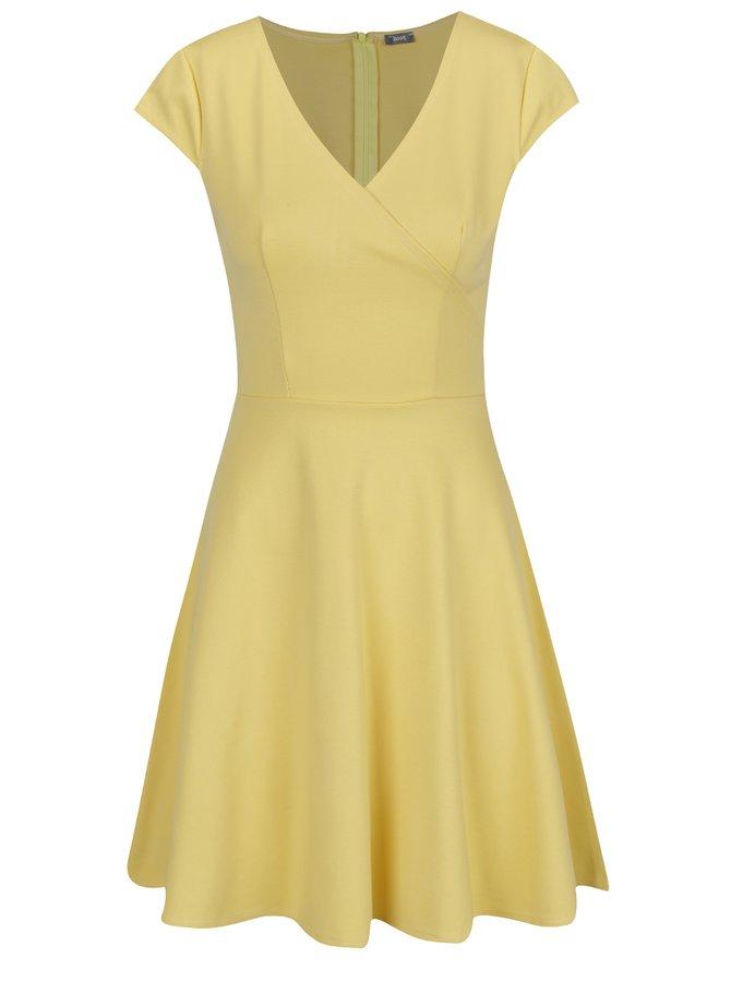 Rochie galbenă ZOOT cu decolteu în V