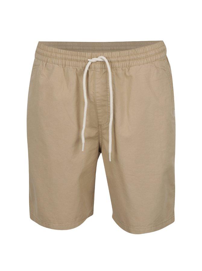 Pantaloni bej VANS Range cu talie elastică