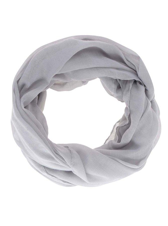 Šedý šátek se třpytkami Haily´s Danny