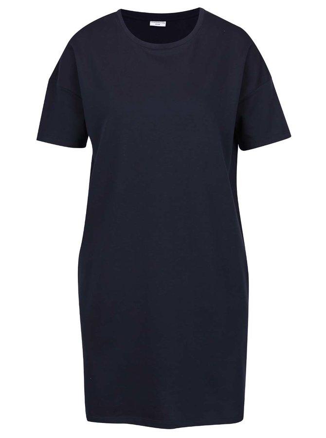 Tmavě modré šaty s kapsami Jacqueline de Yong Sally