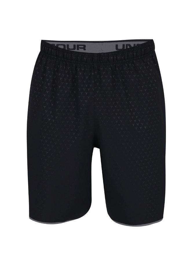 Pantaloni sport scurți negri Under Armour Qualifier pentru bărbați