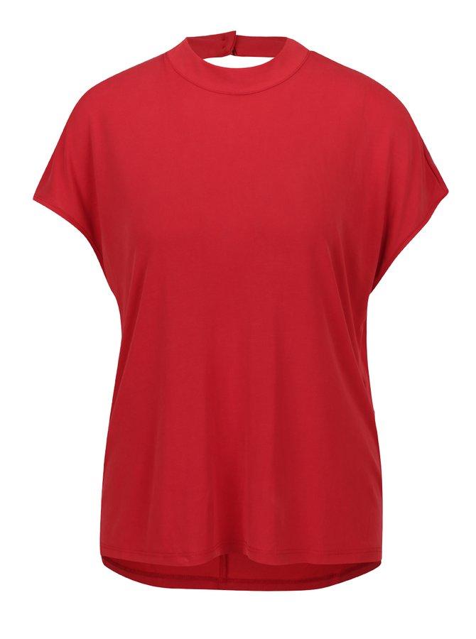 Tricou roșu ONLY Tula cu decupaj la spate