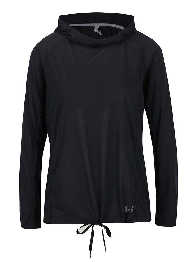 Bluză sport neagră Under Armour Threadborne Train pentru femei