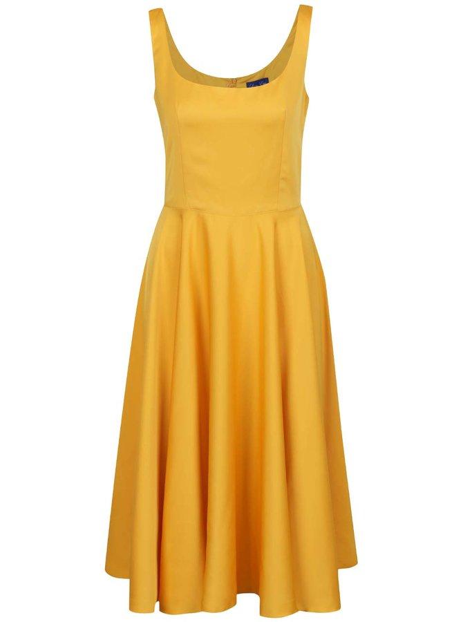 Žluté šaty Lazy Eye Lola