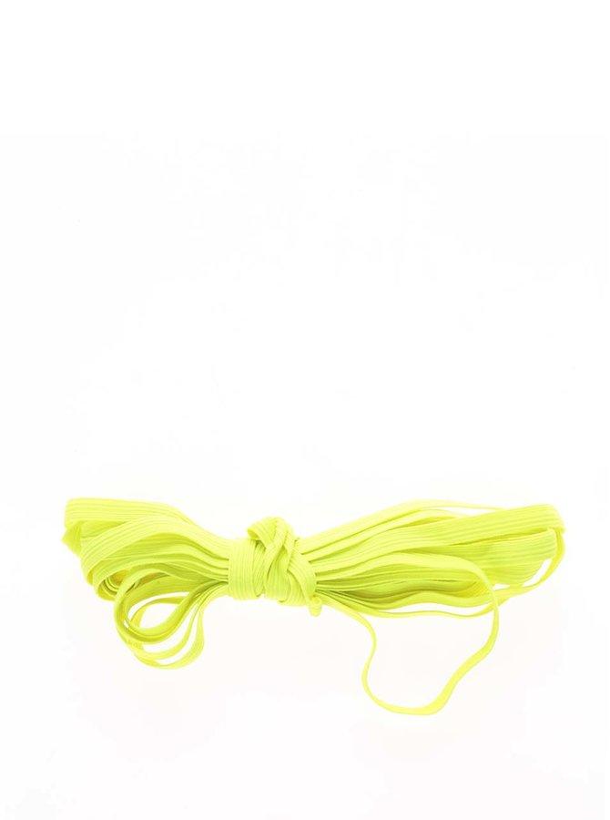 Neonově žlutá guma na skákání SkočSi
