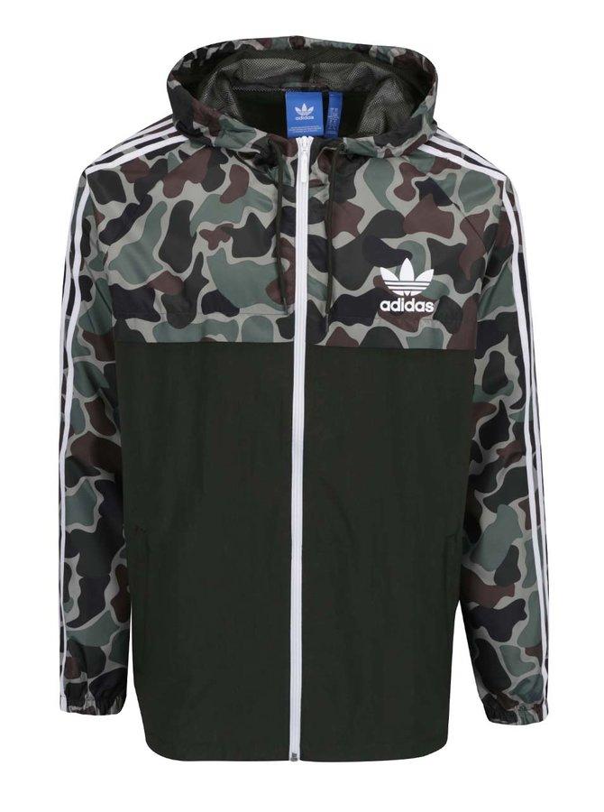 Jachetă verde camuflaj pentru bărbați - adidas Originals