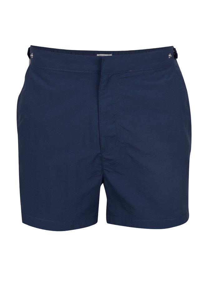 Bermude de plajă albastru închis Burton Menswear London cu buzunare