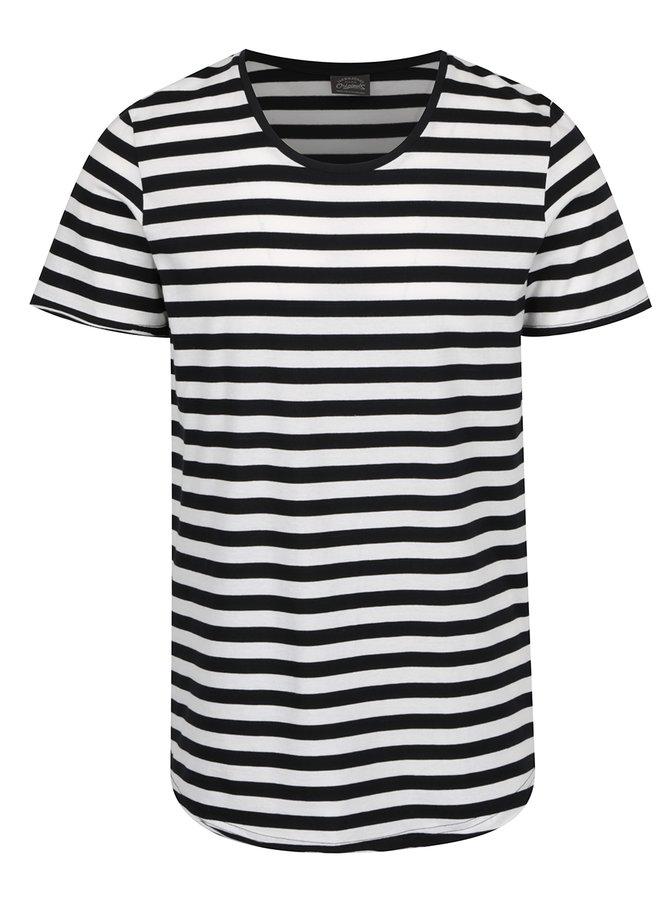 Bílo-černé pruhované triko Jack & Jones Insta