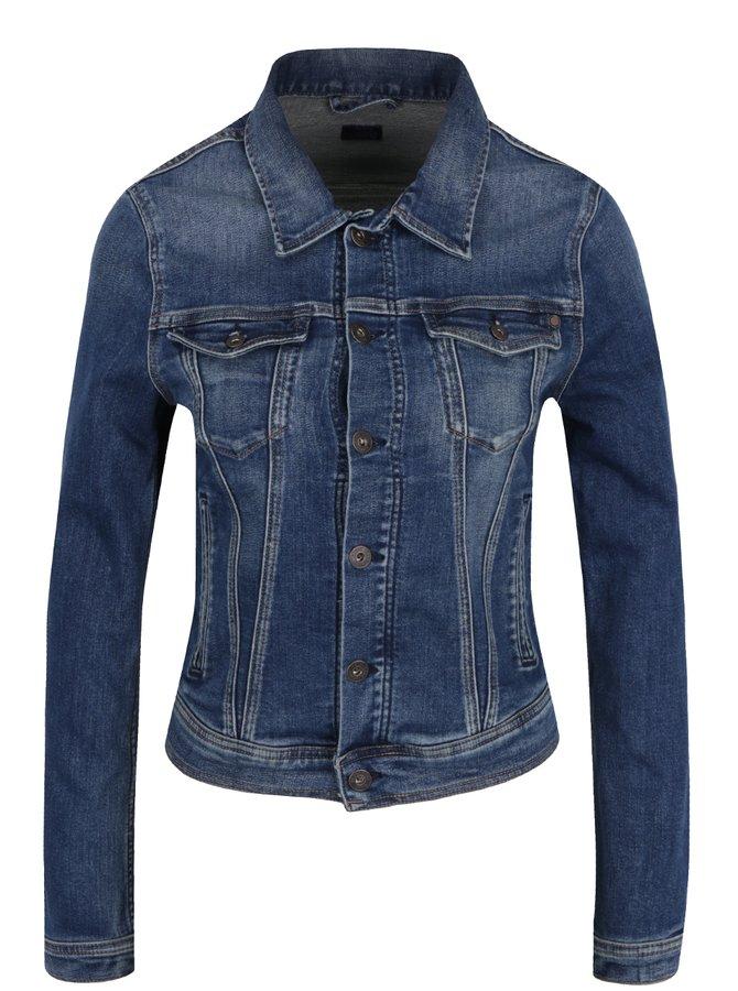 Modrá dámská džínová bunda Pepe Jeans Core Jacket