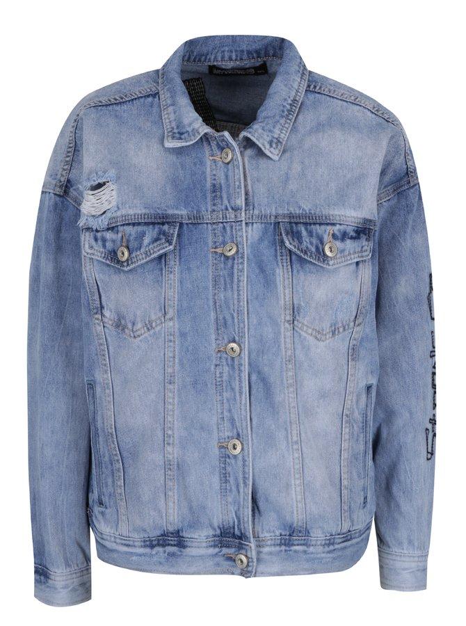 Jachetă albastru deschis Haily's Find din denim