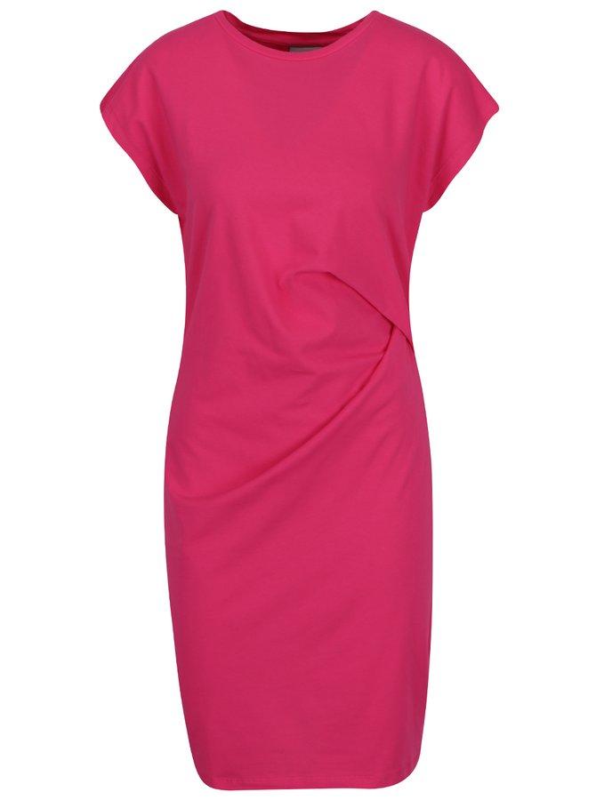 Rochie roz cu mâneci scurte VERO MODA Hilde