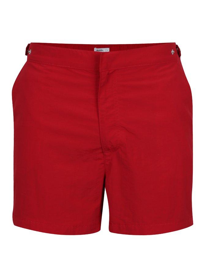 Bermude roșii de plajă Burton Menswear London