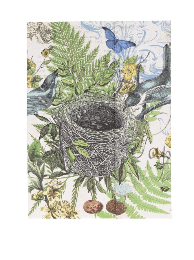 Velký set lepících a poznámkových bločků s motivem lesa Michel Design Works