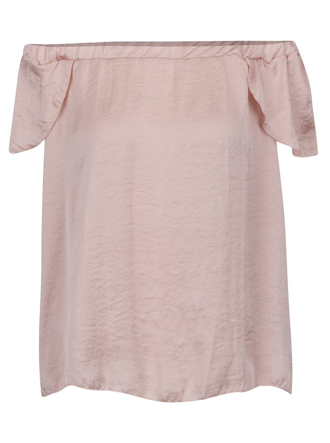 Bluză roz Haily's  cu decolteu pe umeri