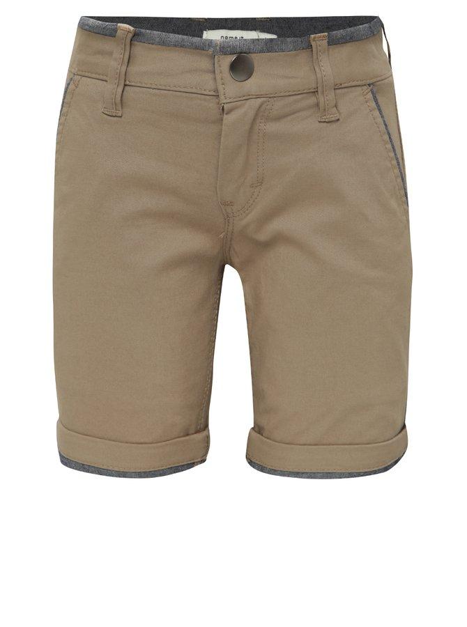 Pantaloni scurți maro deschis name it Taram  pentru băieți
