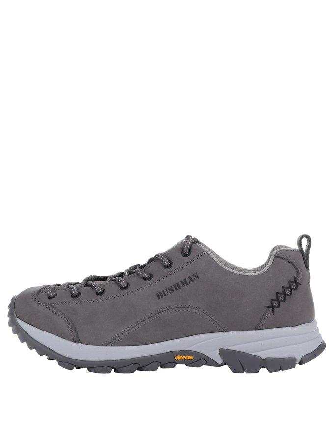 Pantofi sport gri din piele BUSHMAN Cyrah