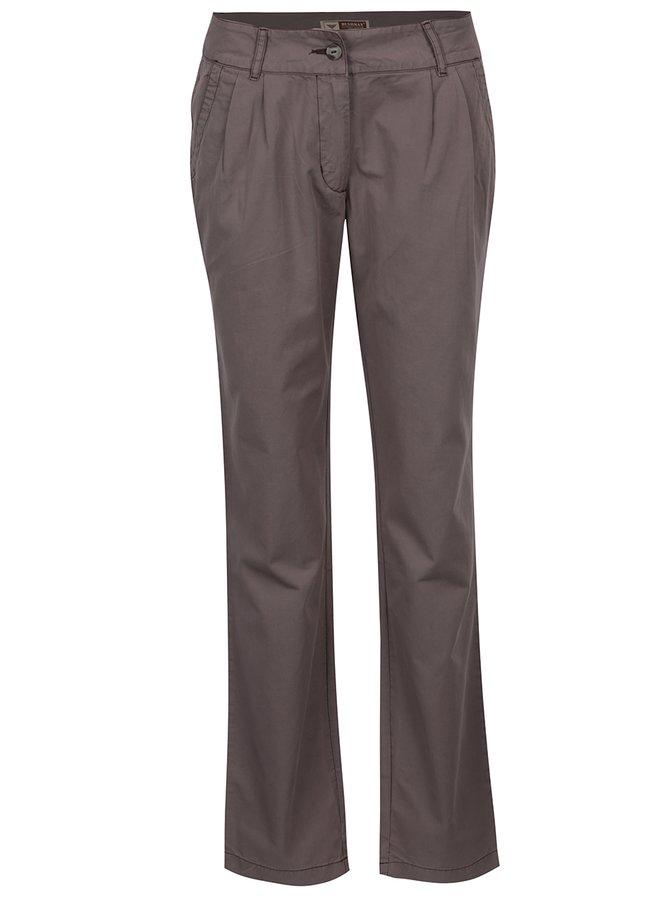 Tmavě šedé dámské kalhoty BUSHMAN Eunice