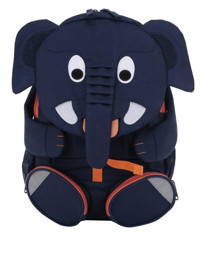 Rucsac bleumarin în formă de elefant Affenzahn 8 l
