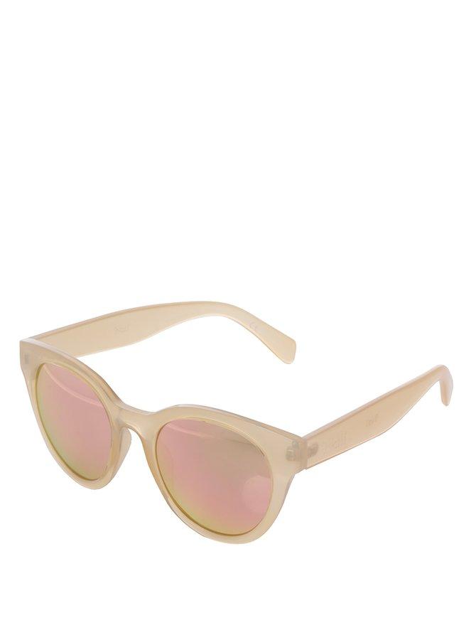Světle růžové dámské sluneční brýle Nalí