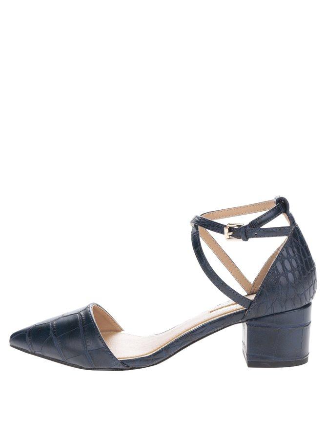 Tmavě modré sandálky s uzavřenou špičkou Miss KG Ava