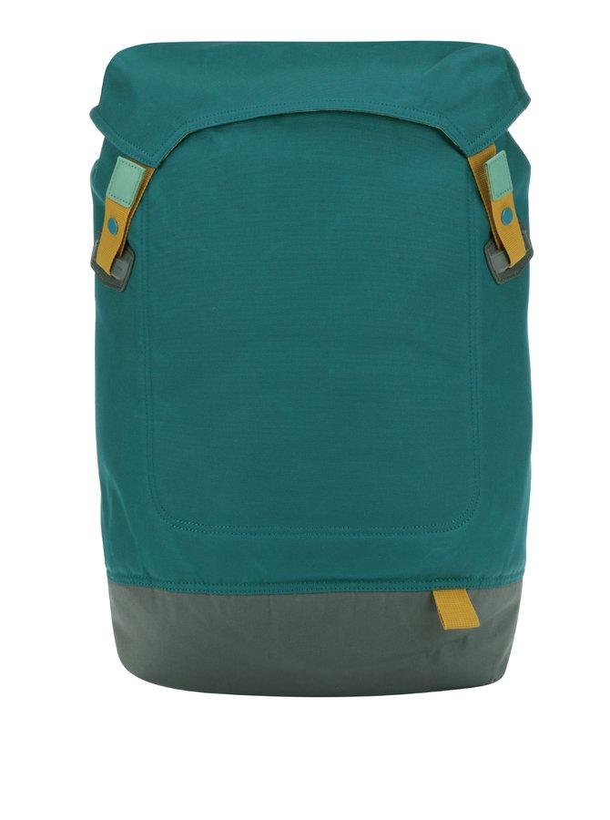 Šedo-tyrkysový batoh na notebook Case Logic Larimer 22 l