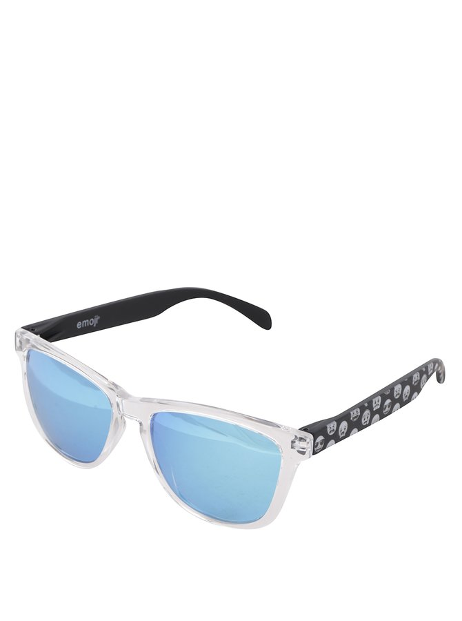 Transparentní unisex sluneční brýle Emoji Smiles