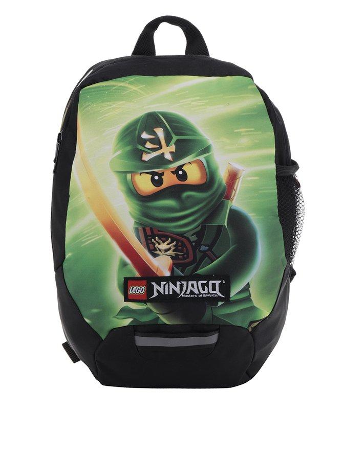 Rucsac negru cu print multicolor LEGO Wear Ninjago Lloyd 10 l