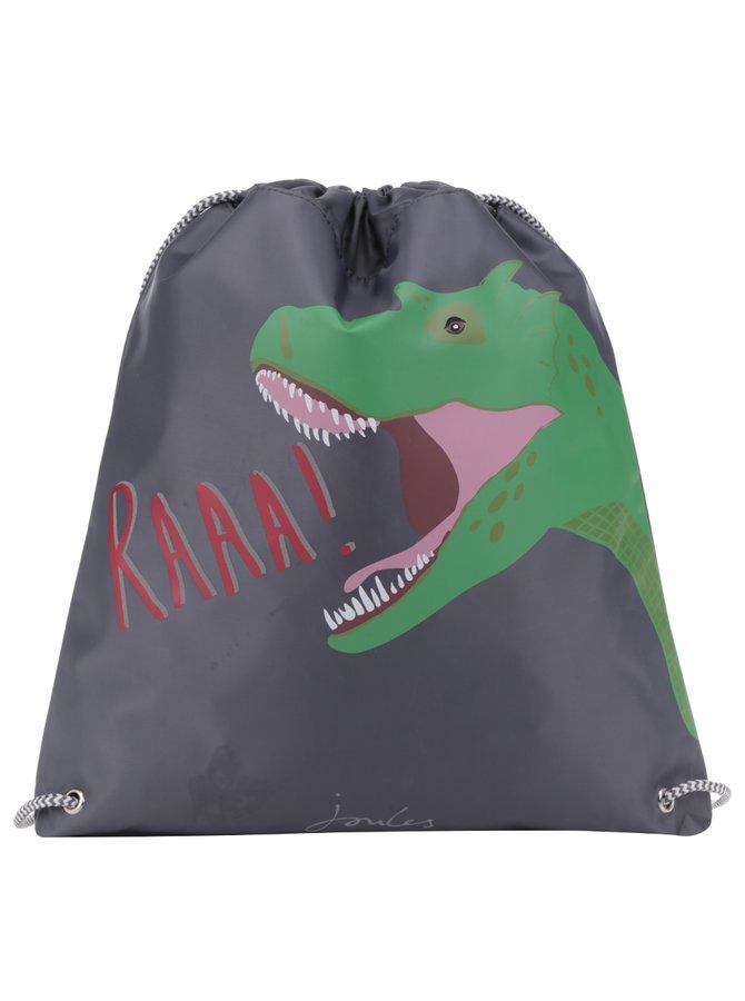 Rucsac gri cu dinozaur pentru copii Tom Joule