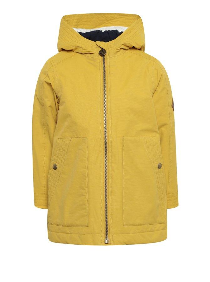 Žlutý holčičí voděodolný kabát Tom Joule