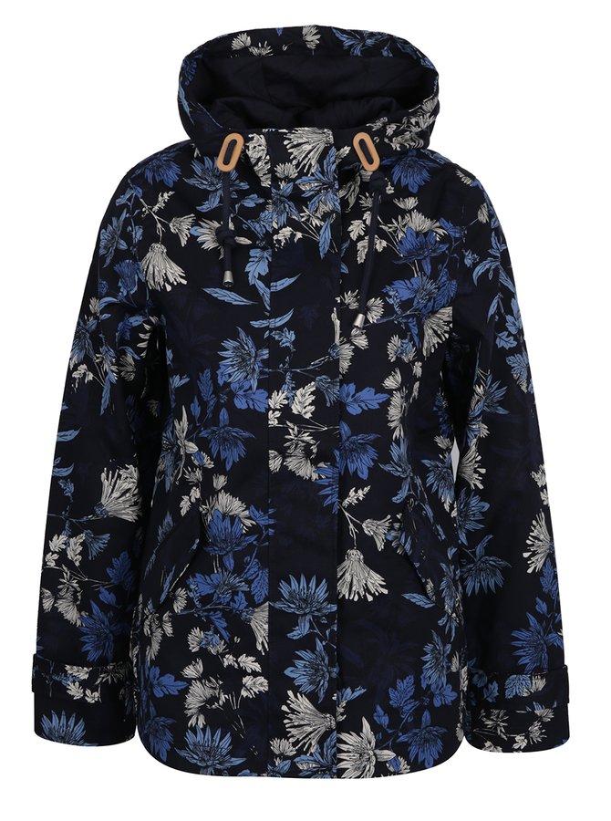 Jachetă impermeabilă bleumarin cu print floral pentru femei Tom Joule