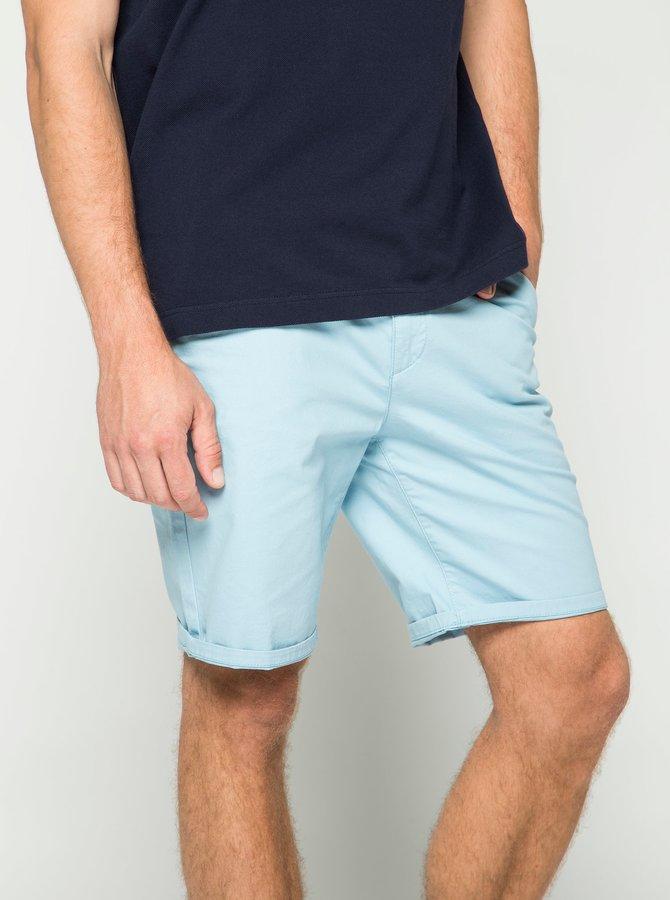 Pantaloni scurți albastru deschis Burton Menswear London