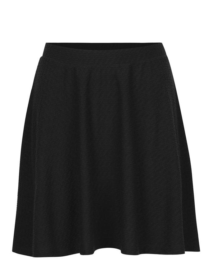 Černá mini sukně VERO MODA Ditte