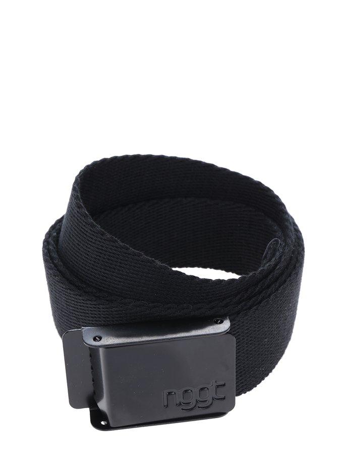 Curea textilă neagră pentru bărbați NUGGET Faux