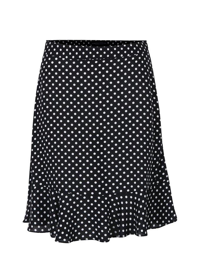 Černá puntíkatá sukně Dorothy Perkins