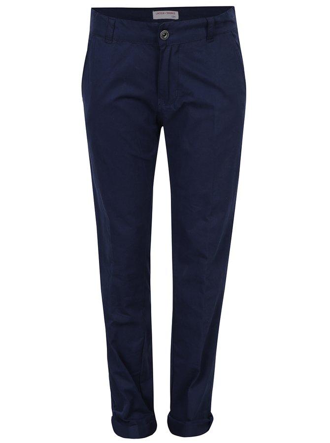 Tmavě modré klučičí regular chino kalhoty 5.10.15.