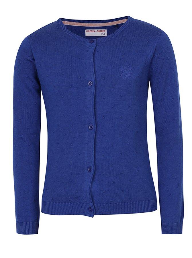 Cardigan albastru pentru fete - 5.10.15.