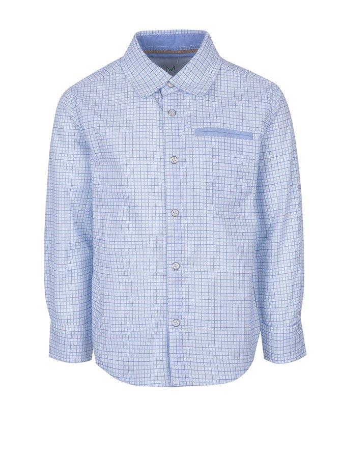 Bílo-modrá klučičí kostkovaná košile 5.10.15.