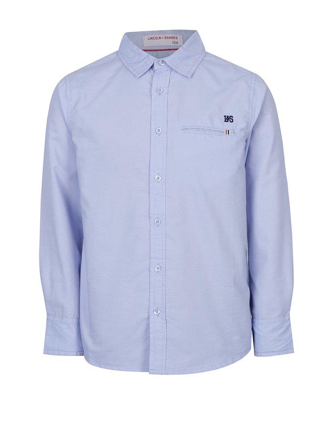 Modrá pruhovaná klučičí košile 5.10.15.