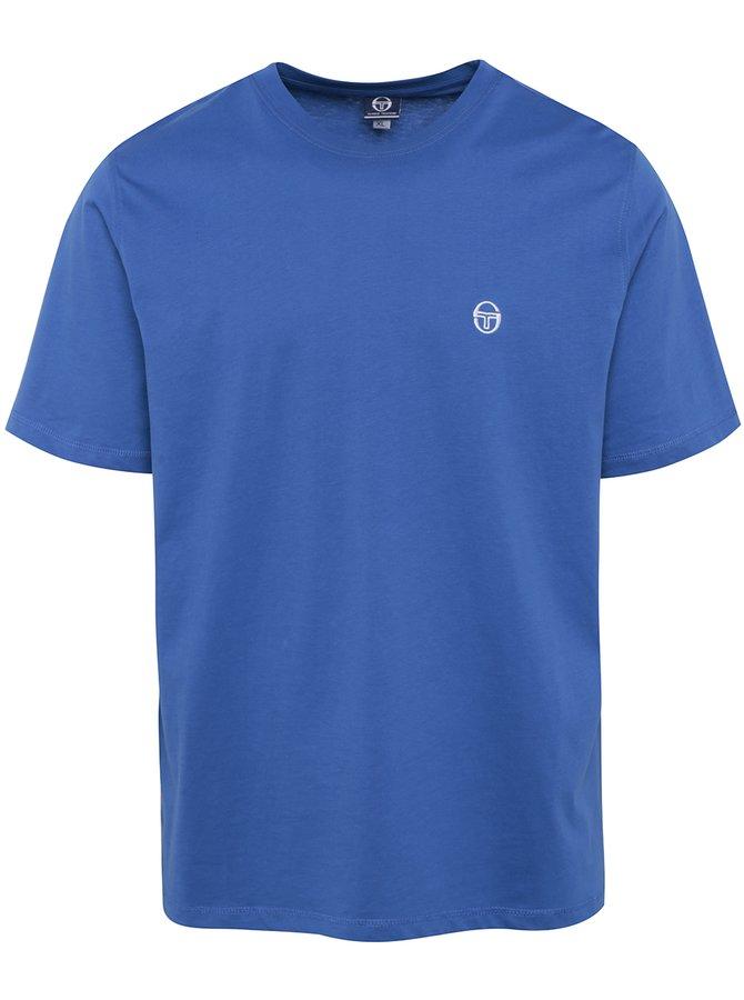 Tricou albastru din bumbac pentru bărbați Sergio Tacchini Daiocco