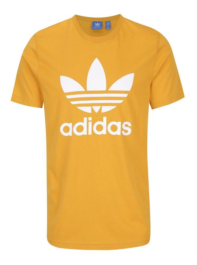Tricou galben pentru bărbați adidas Originals