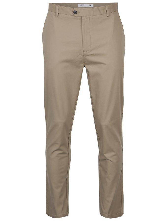 Pantaloni bej chino slim fit - Burton Menswear London
