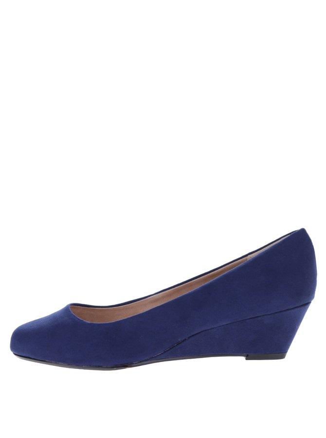 Pantofi albaștri cu platformă - Dorothy Perkins